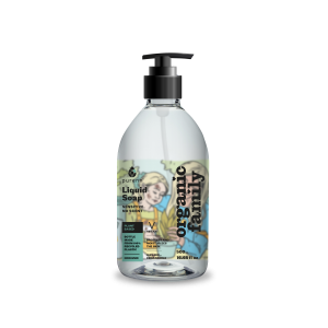 Liquid soap with Aloe vera and calendula extracts for sensitive skin. No Scent added. 500ml