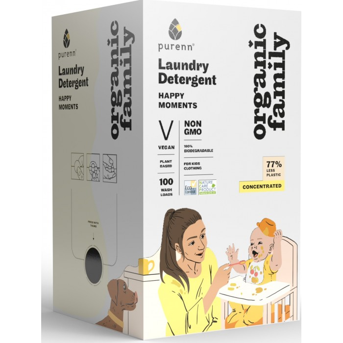 Organic Family HAPPY MOMENTS Laundry Detergent 3L