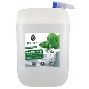 PURENN toilet cleaner with lemon and peppermint essential oils 10L