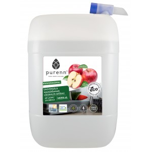 PURENN universal floor cleaner with lime and apple 10L