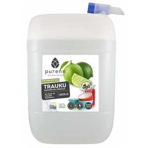 PURENN Dishwashing liquid with lime and bilberry extract 10L