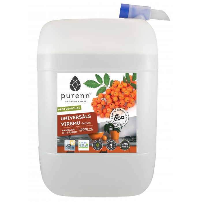 All purpose cleaner for kitchen with apple and rowanberry extracts 10L