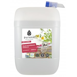 PURENN liquid laundry detergent for baby clothes with Aloe Vera and calendula 10L