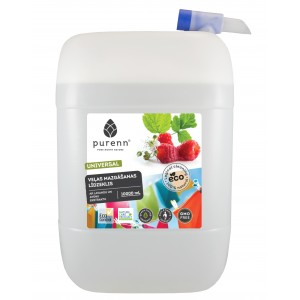 PURENN liquid laundry detergent with lavender and raspberry 10L