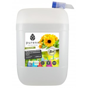 Liquid detergent for colored laundry with earthy calendula 10L