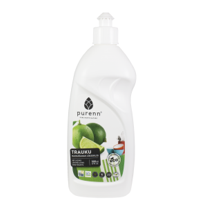 Dishwashing liquid with lime 500ml - OLD DESIGN