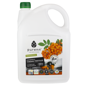 All purpose cleaner for kitchen with apple and rowanberry extracts