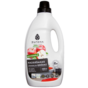 PURENN universal floor cleaner with lime and apple 1L
