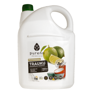 PURENN Dishwashing liquid with lime and bilberry extract 5L