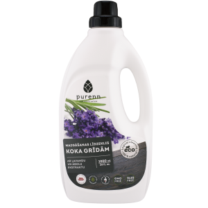 PURENN wood floor cleaner with lavender and apple extract 1L