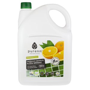 PURENN bathroom floor cleaner with orange and lingonberry extract 5L
