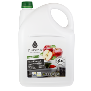 PURENN universal floor cleaner with lime and apple 5L