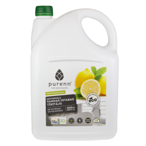 PURENN All purpose cleaner for bathroom with lemon and rowanberry extract 5L