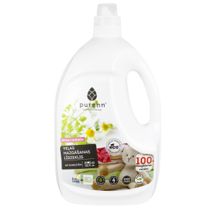PURENN liquid laundry detergent for baby clothes with Aloe Vera and calendula 3L - OLD DESIGN