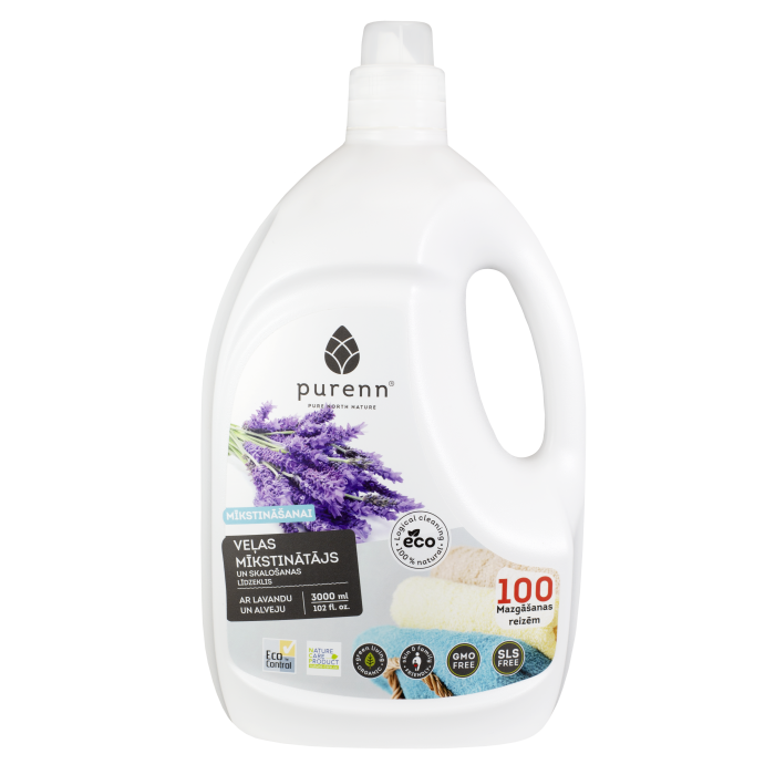 Fabric Softener and Laundry Rinse 3L