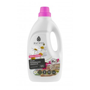 PURENN liquid laundry detergent for baby clothes with Aloe Vera and calendula 1L - OLD design