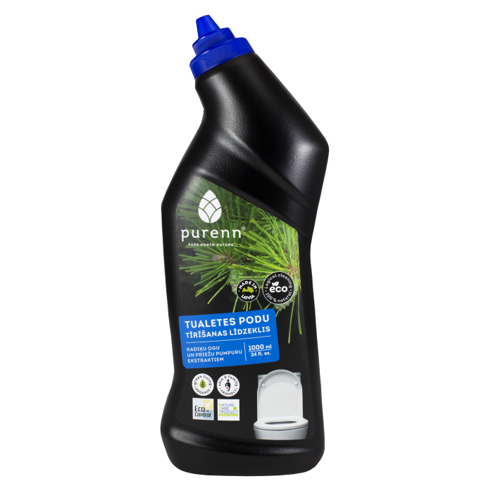 PURENN toilet cleaner with juniper and pine bud extracts 1L